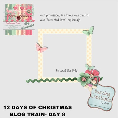 Romajo - 12 Days of Christmas - Day 8 Preview