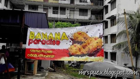 FoodReview :: Pisang Goreng Cheese Bercoklat @ Banana Paradise