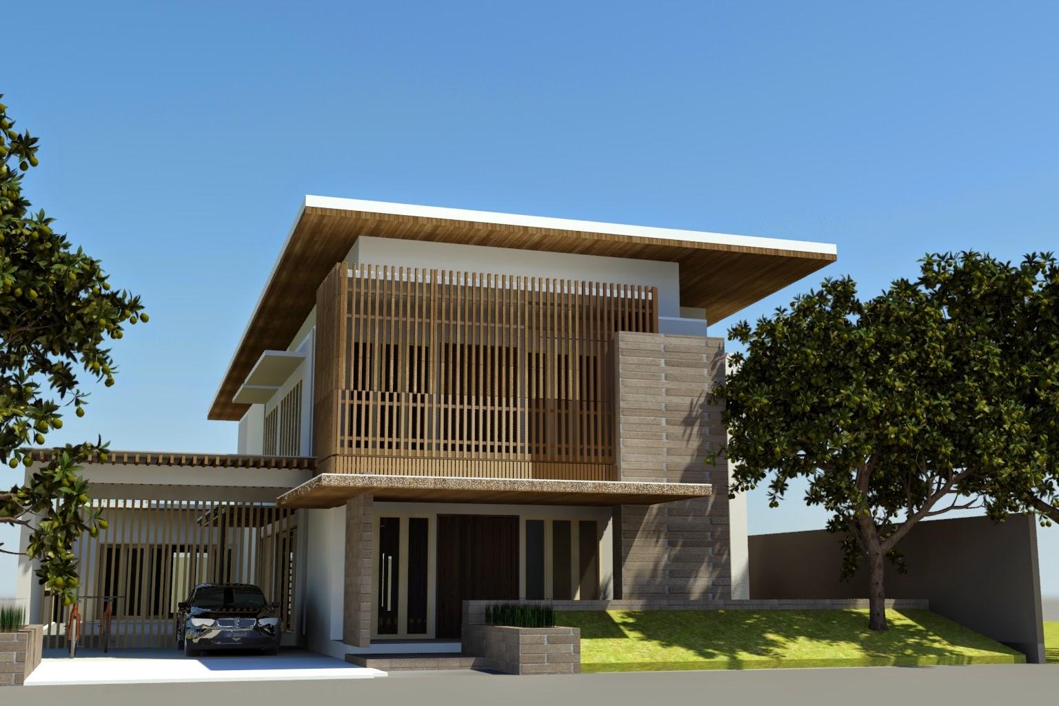 diwangkoro arsitek rumah 2 lantai di lahan 15x33 dengan
