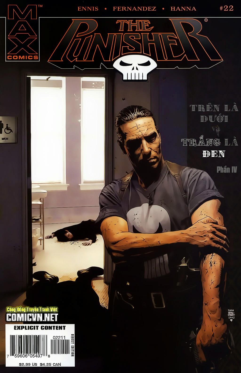 The Punisher: Trên là Dưới & Trắng là Đen chap 4 - Trang 1