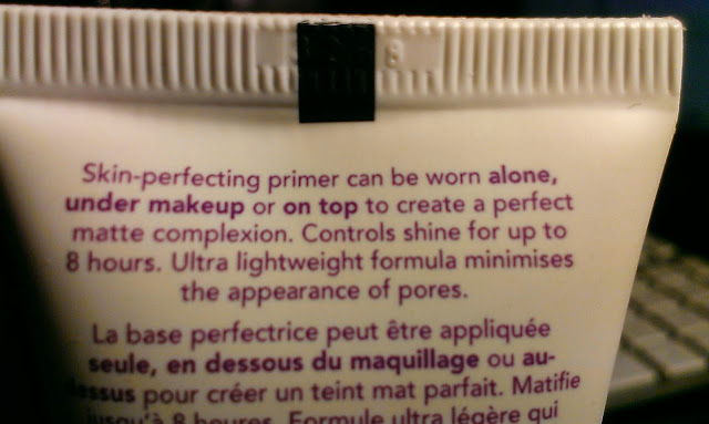 Rimmel London Stay Matte foundation primer review