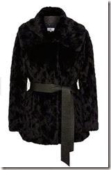 CC Midnight Blue Faux Fur Jacket