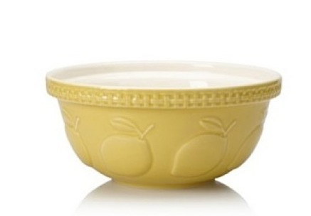 Amazon 1 com Mason Cash Mixing Embossed Bowls  Lemon Home  Kitchen 2