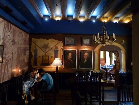 Obiective turistice Lvov: restaurant masonic
