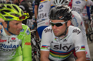 Mark Cavendish and Ivan Basso