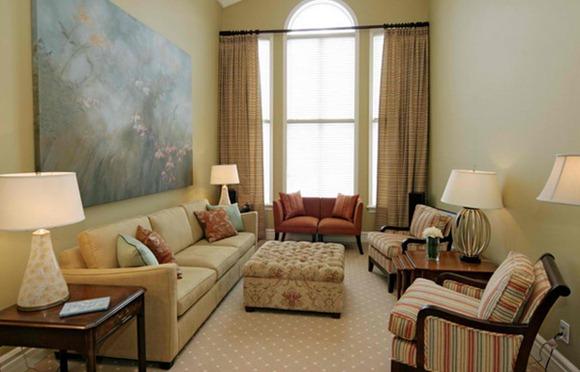 Diseños de salas pequeñas
