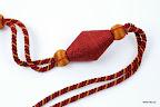 Korale do dekoracji wnętrz - duże (np. obejma do tkanin, zawieszki).