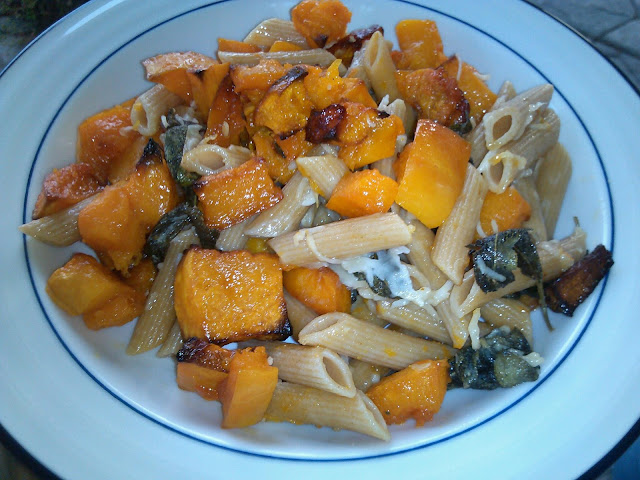 Winter Squash and Sage Pasta