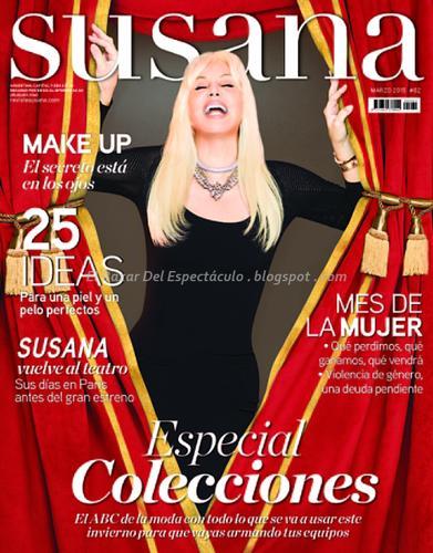 Maju Lozano En Revista Susana Marzo 2015 Tapa Y