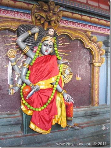VidyaSury thirvakkarai vakrakali