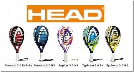 Colección HEAD PÁDEL 2013