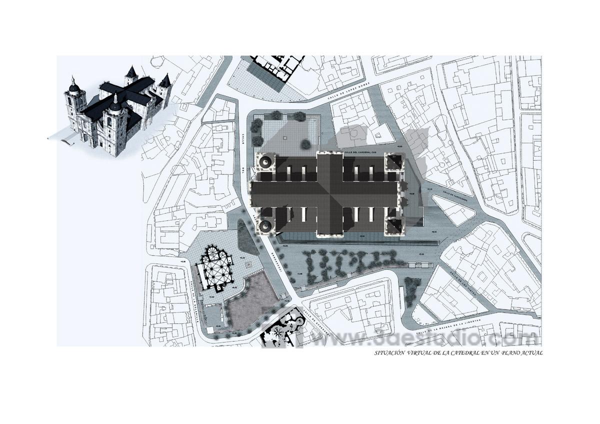 Lo que quiso ser infograf as de la catedral de valladolid - Estudio arquitectura valladolid ...