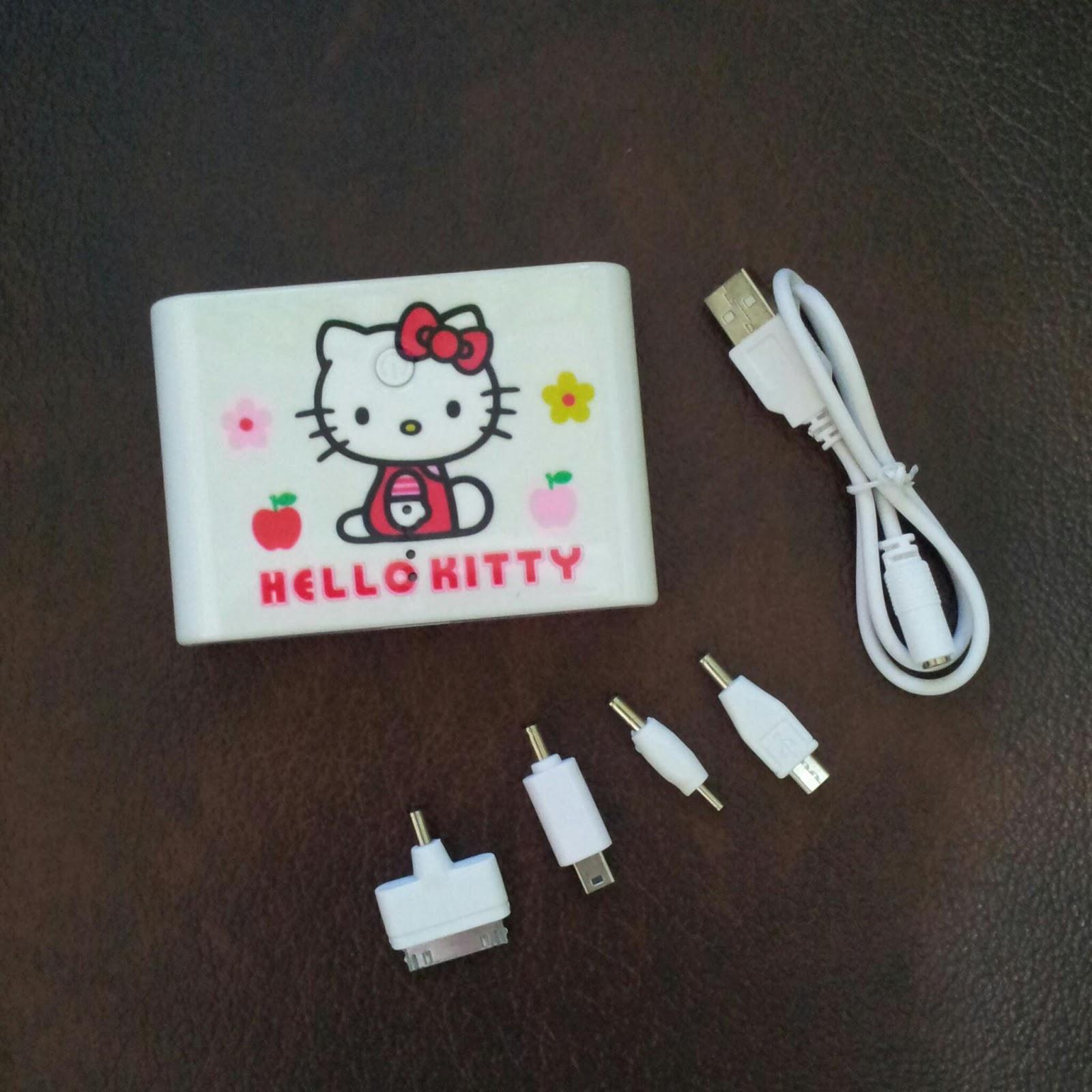 Jual Powerbank Hello Kitty Murah Grosir Ecer 12000 Mah