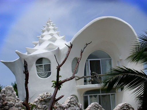 The Conch Shell House Isla Mujeres, Mexico