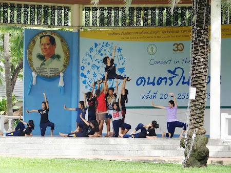 Dansatoare thailandeze