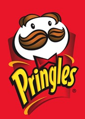 The Pringles logo [Registered Trademark of Procter & Gamble]