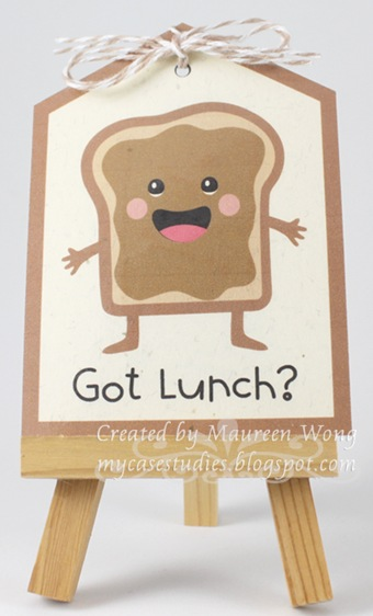 Lunch Reminder Tag