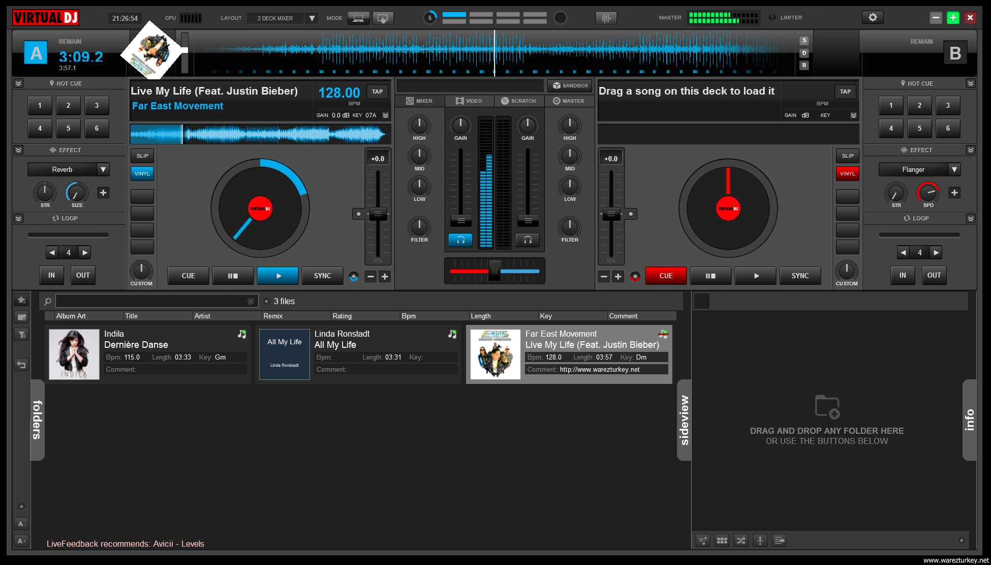 Atomix Virtual DJ Pro 8.0.2345 + İçerik Paketi Full