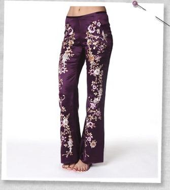 Flyhigh flare pant violet