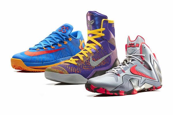 KD Kobe and LeBron Get New Elite Series Team Collection from Nike