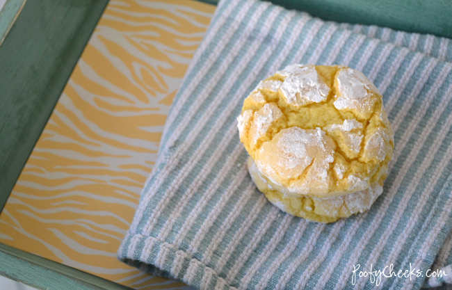Coconut Lemon Cake Mix Cookies
