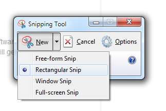 snipping tool capture