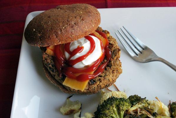 1 Veggie Burger 1