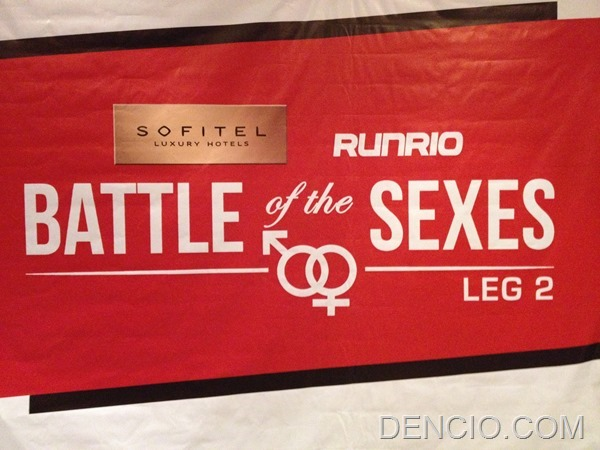 Battle of the Sexes Run 2
