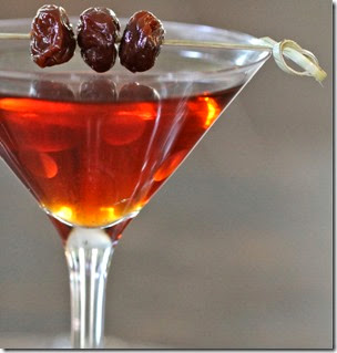 Manhattan_with dried cherries