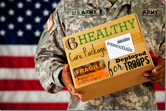 6 Healthy Care Packages Essentials_for_Deployed Troops