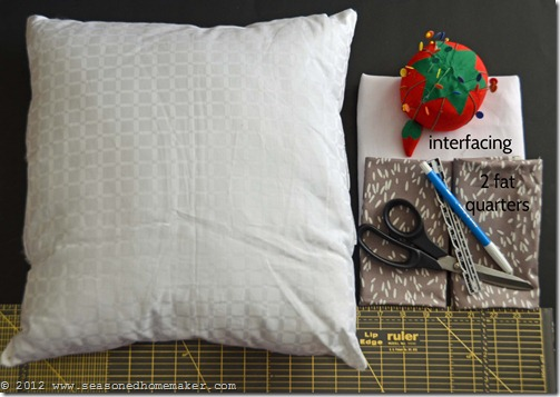 How to Sew a Pillow 1