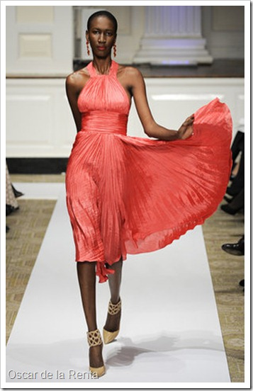 oscar-de-la-renta-pre-fall-2012-coral-crimped-pleated-dress-profile