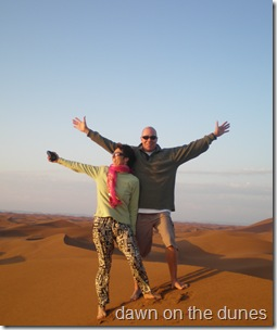 on top of the Sahara Desert
