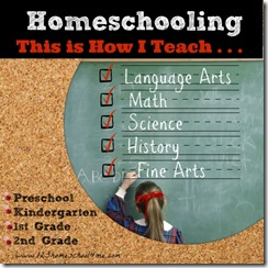 Homeschooling Science Preschool, Kindergarten, 1st Grade, 2nd Grade