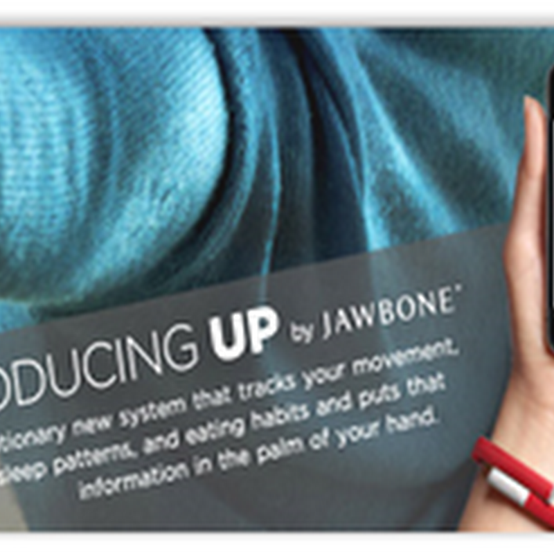 One More Device Enters the Market to Record Exercise, Nutrition and Sleep Patterns For Consumers–JawBone UP