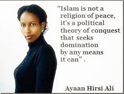 Ayaan Hirsi Ali quote on true Islam