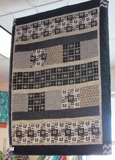 UTah State quilt kit 2