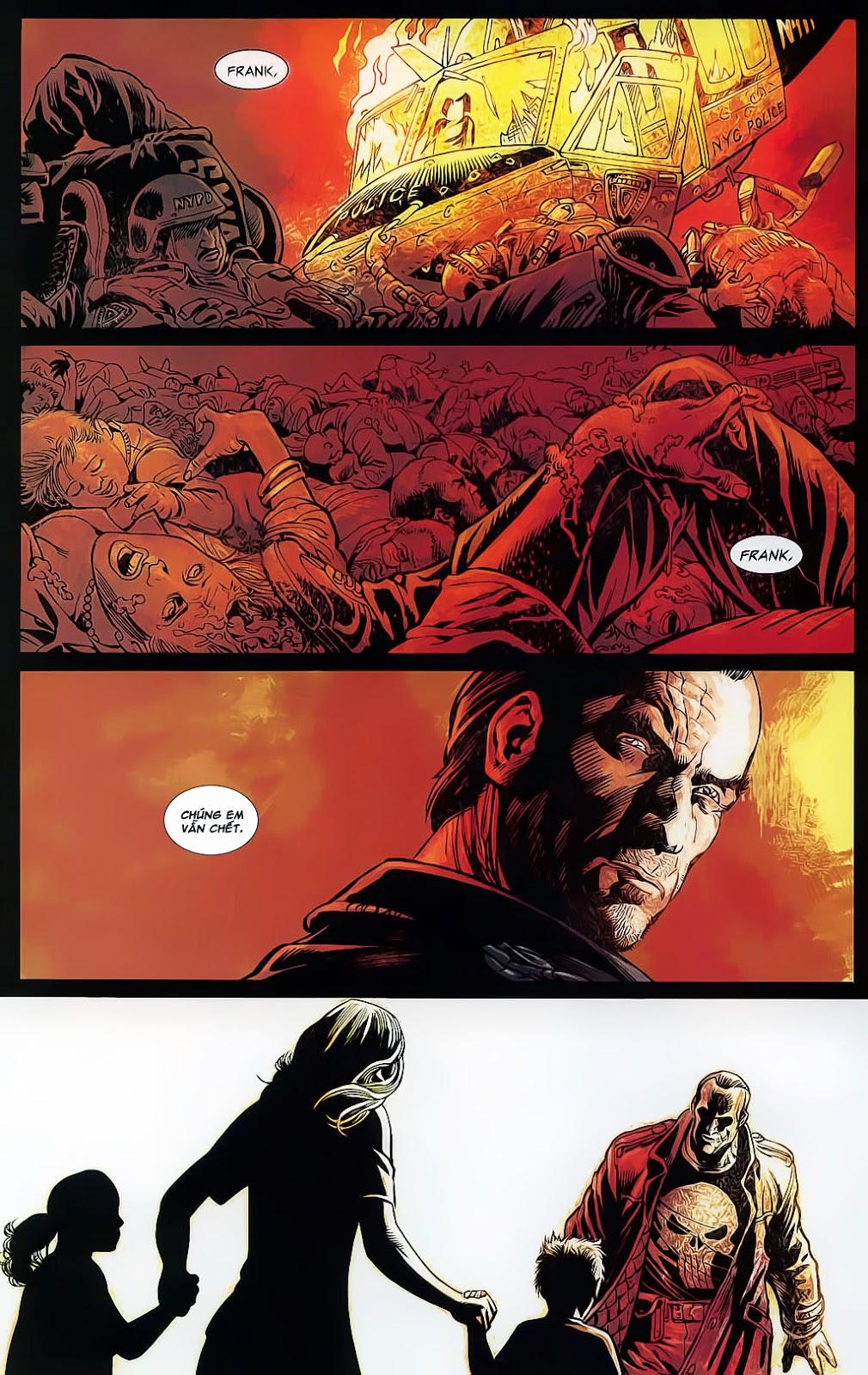 The Punisher: Trên là Dưới & Trắng là Đen chap 4 - Trang 7
