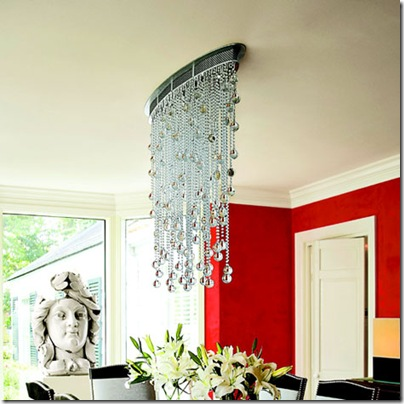 dripping chandelier