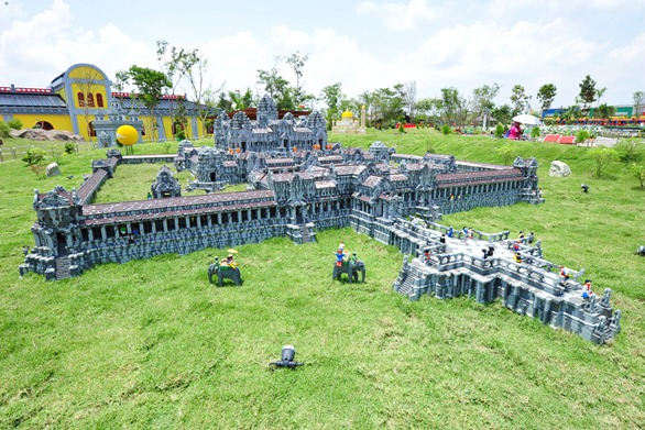 Angkor Wat LEGO replica
