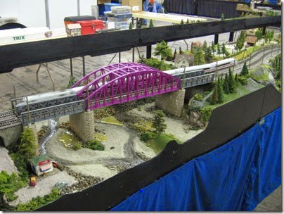 IMG_5553 Truss Bridge on the SwissRail HO-Scale Layout at the WGH Show in Portland, OR on February 18, 2007
