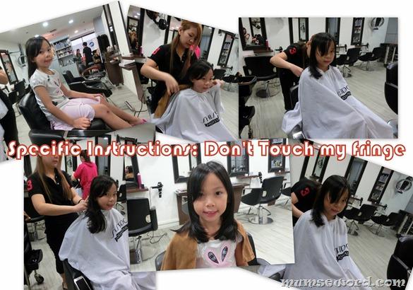 MCMD Hair cut for kid