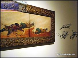 Felix Hidalgo's La Derorota de Limahong Oil on Wood