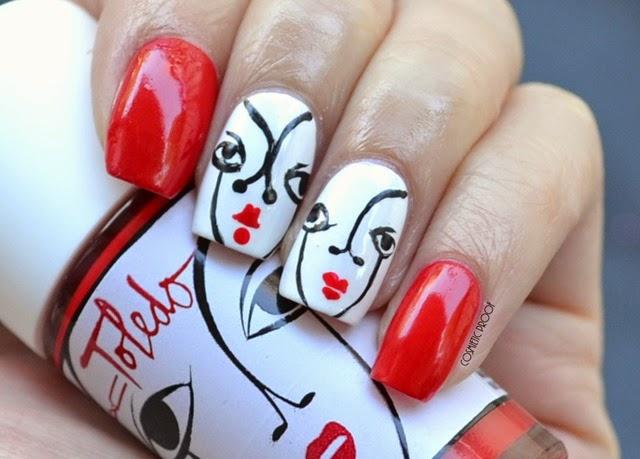 MAC Cosmetics Toledo Nail Art Venus Red Review Swatch