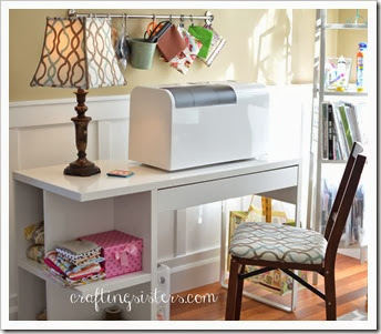 Sewing Area Makeover