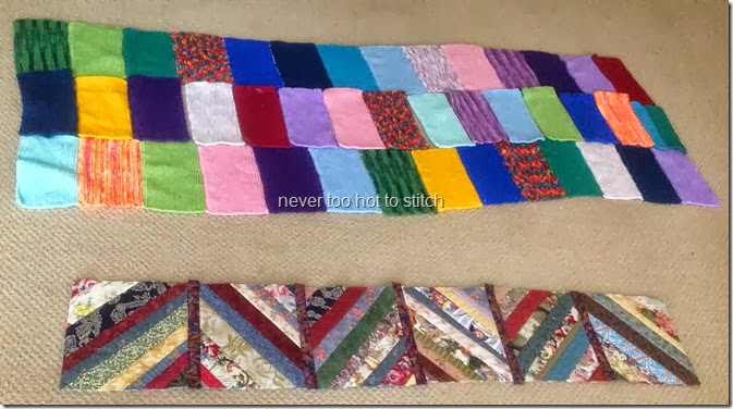 2013 knitted patchwork
