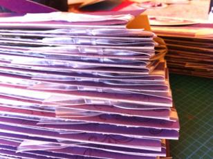 Stampin Up wedding invitations by Ida Chan
