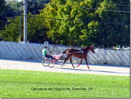 Camped at the Fairgrounds, Greenville, OH