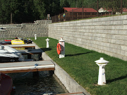 Retaining walls for marina construction in WA and ID