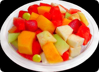 Coctel de fruta botanas saludables fiestas centros de mesa